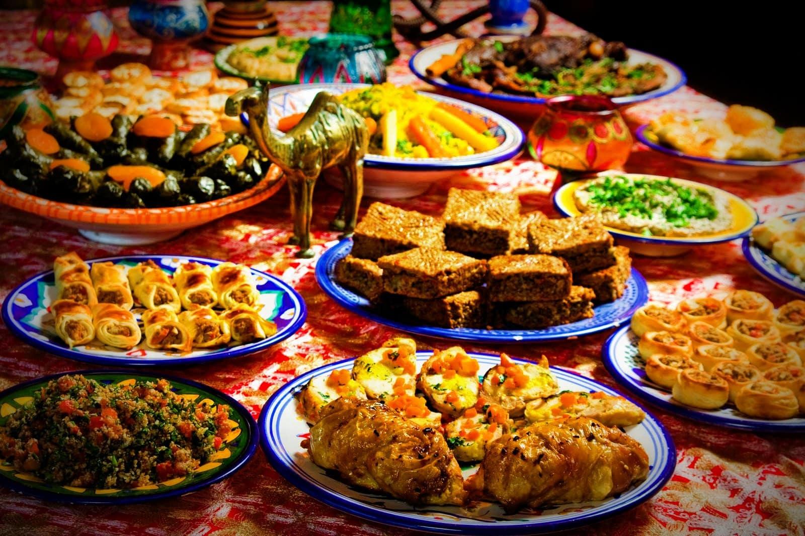 Блюда мусульманской кухни картинки